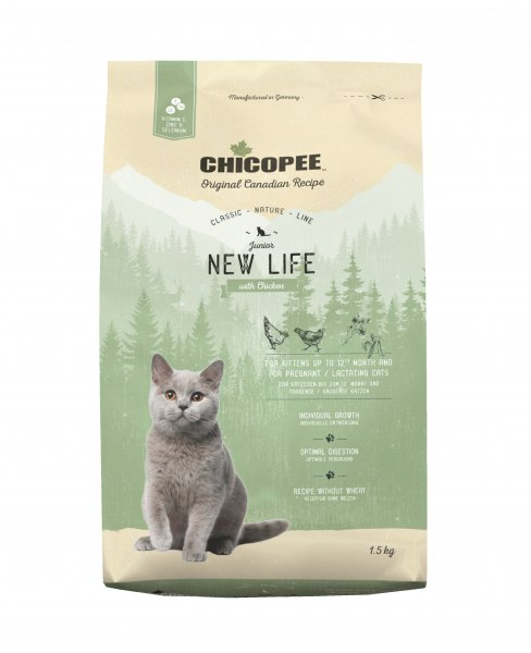 CHICOPEE CNL CAT JUNIOR New Life Chicken 1,5 kg